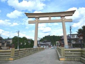 櫻山八幡宮一の鳥居