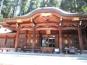 櫻山八幡宮拝殿