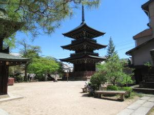 飛騨国分寺三重塔