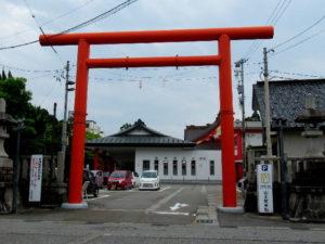 日枝神社赤鳥居