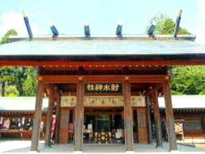 射水神社拝殿