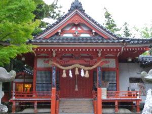 金澤神社幣殿
