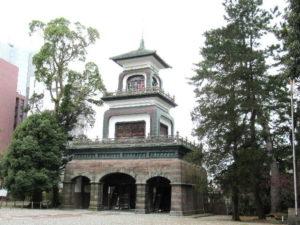 尾山神社神殿