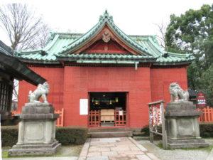 尾崎神社拝殿