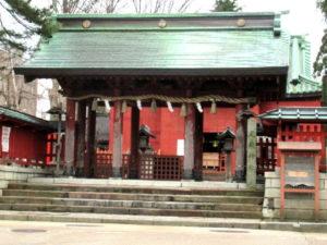 尾崎神社社殿