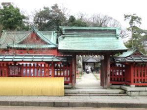 尾崎神社門