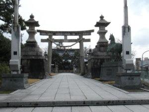高岡關野神社鳥居