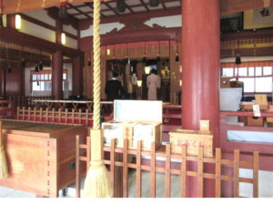 魚津神社 拝殿