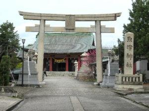 魚津神社社殿