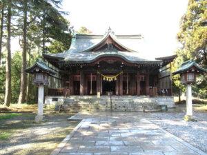 八心大市比古神社の社殿