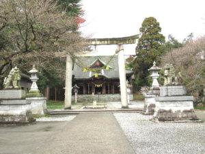 八心大市比古神社の鳥居