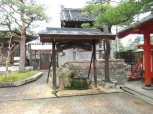 西願寺手水舎