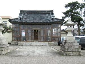 諏訪神社社殿