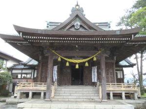 魚津八幡宮社殿