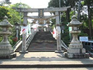 伏木神社 参道