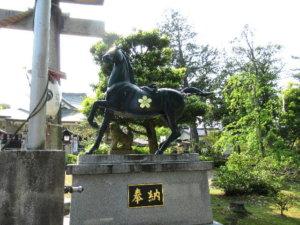 伏木神社 神馬