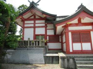 越中稲荷神社 本殿