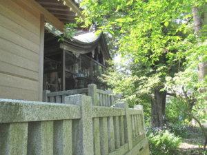 中川熊野神社の本殿