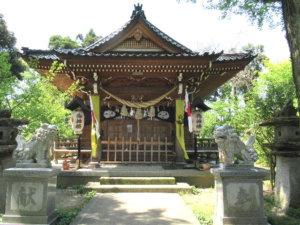 中川熊野神社の社殿