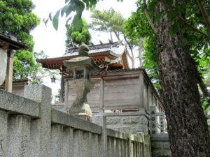 於保多神社 本殿
