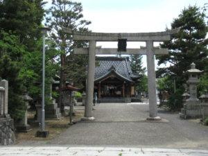 於保多神社 社殿
