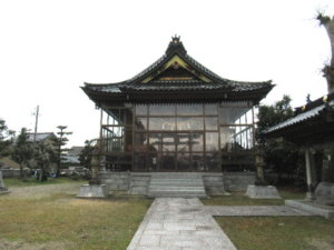 建石勝神社の社殿