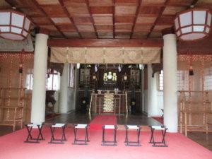 鹿嶋神社 拝殿