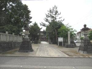 鹿嶋神社 参道
