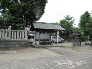 鹿嶋神社 手水舎