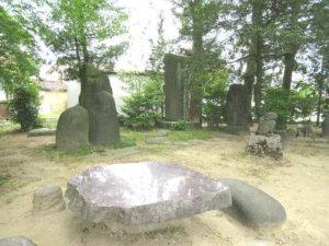 新川神社 境内碑