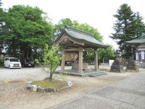 新川神社 手水舎