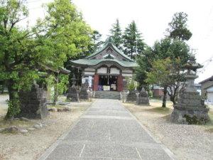 新川神社 社殿