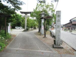 新川神社 鳥居