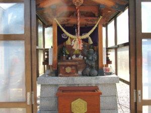 岩瀬諏訪神社 大黒様