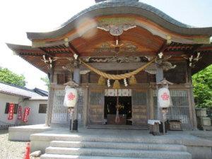 岩瀬諏訪神社 拝殿