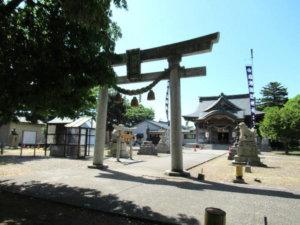 岩瀬諏訪神社 境内