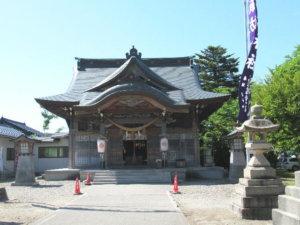 岩瀬諏訪神社 社殿