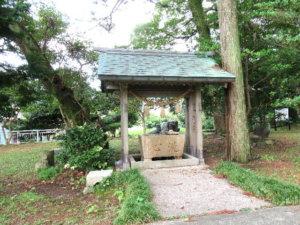越中宮崎 鹿嶋神社の手水舎