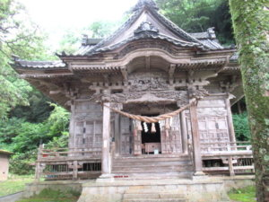 越中宮崎 鹿嶋神社の拝殿