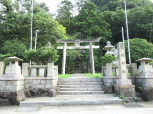 越中宮崎 鹿嶋神社の鳥居