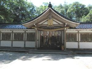 氣多神社社殿