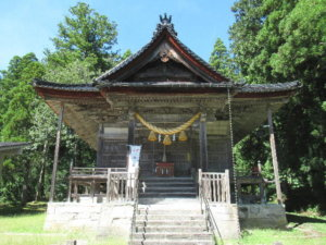二上射水神社社殿