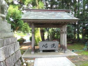 龍尾神社手水舎
