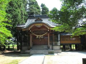 龍尾神社社殿