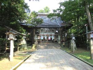 脇子八幡宮社殿