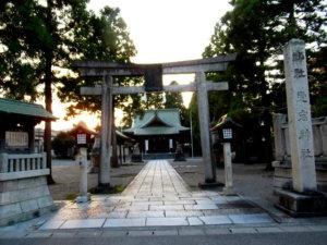 愛宕神社神社標