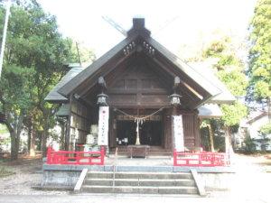 十社大神社殿