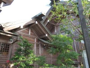 櫛田神社本殿