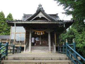 先宮熊野神社社殿