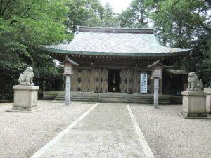 高岡市護國神社社殿